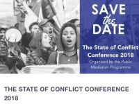 The State of Conflict Conference 2018
